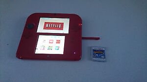 Red Nintendo 2DS