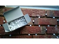 Brick Tile/Slips Spacers/Props 10 and 12mm. in 1 box - 220 spacers