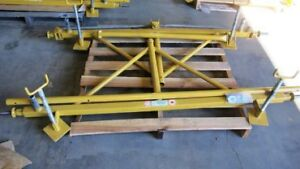 LIVE AUCTION INDUSTRIAL FABRICATING SCAFFOLD MANUFACTURING EQUIP