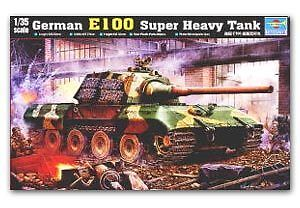 Trumpeter 1/35 00384 German E-100 Super Heavy Tank