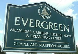 Burial Plot for sale