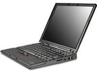 Thinkpad X40 Laptop Plus Ultrabase (Spares or repair) Free