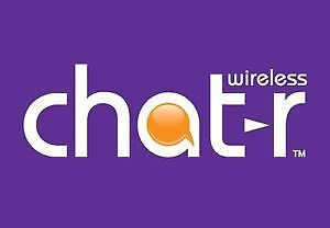 CHATR PREPAID ACTIVATION,MANY PHONE START-$49 UNLOCKED