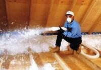 Attic Insulation Upgrades to R50+ and R60 - save 40% till xmas