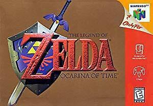 Zelda: Ocarina of Time (N64 Game Pak)