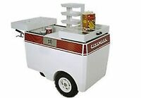 Warm Brand Concession Cart
