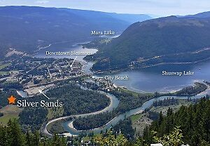 RV Lot For Rent Sicamous, BC