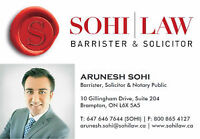 **REAL ESTATE LAWYER: Purchase ($500) Sale ($400) 647-646-7644**