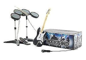 rockband for the wii complete full box everything