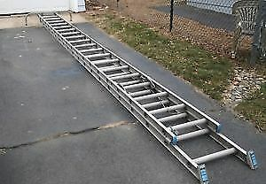 40' Aluminum Extension ladder - $120