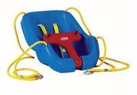 Siège de balançoire pour bébé / Swing baby chair Little Tikes