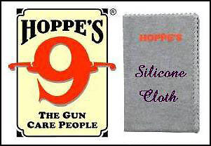 "HOPPE'S 9 SILICONE GUN AND REEL SILICONE CLOTH 12"" X 14"" on Rummage"