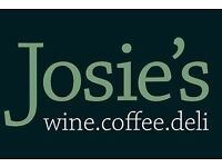 Josie's Coffee are expanded, new roles available, Petersfield, Winchester, Bishops Waltham