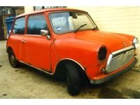 Wanted classic mini complete or incomplete