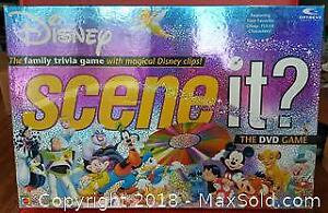 Disney Scene It DVD Board Game First Edition