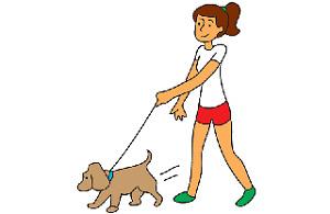 promeur-se de chien