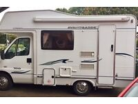 Compass Avantgarde Motorhome 2ltr 2006 4Berth with full Awning & Bike Rack 30,000 miles only!
