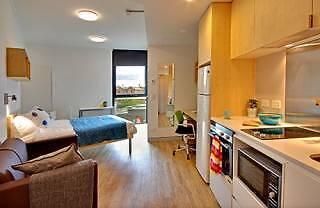 Urbanest Student Accomodation Large Studio Apartment Redfern Inner Sydney Preview