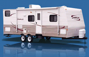Wanted 30ish foot trailer Must have bunk room.