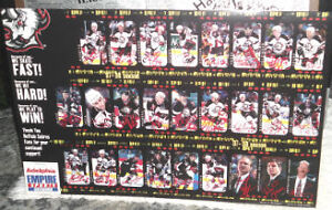 SIGNED PRINT OF BUFFALO SABRES 97/98  SEASON Cambridge Kitchener Area image 1