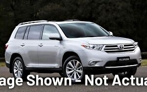 2011 Toyota Kluger GSU45R MY11 Grande AWD Silver 5 Speed Sports Automatic Wagon Castle Hill The Hills District Preview