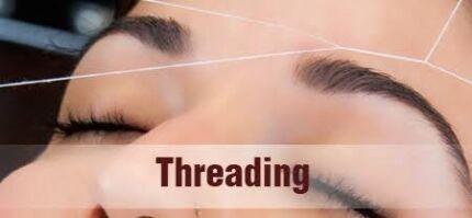 Eyebrow threading $5(full face $15)