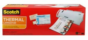 scotch thermal laminator with pouches