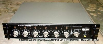 Spectral Dynamics Sd117a Automatic Level Programmer Free Shipping