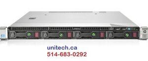 HP 1U Rackmount Server Gen9, 2 x 240GB SSD! E5-2603v3 CPU- NEW