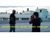 MUSIC VIDEOS FROM £50 SIMPLY CALL 07545831003