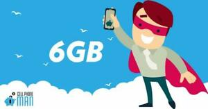 6gb LTE DATA for $49 w/ UNLIMITED NATIONWIDE CALLING - NO CONTRACT!
