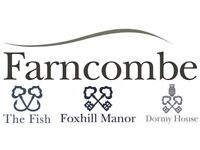 Food and Beverage Supervisor – The Fish, Farncombe Estate