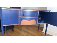 Georgian bow fronted sideboard stunning