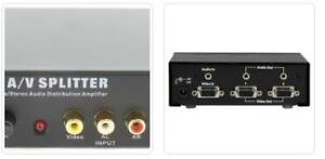 Audio/Video Spitters for CHEAPER PRICE starting from $9.00.
