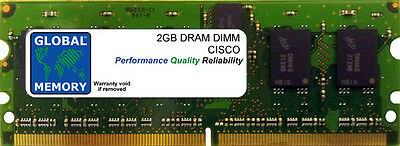 2 Go DRAM DIMM Cisco 7600 routeurs rsp720-3c-ge/rsp720-3cxl-ge (mem-rsp720-sp2g)