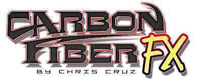 Artool Freehand Carbon Fiber FX Airbrush Painting Stencil by Chris Cruz Set of 2