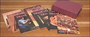 Full set Lee Valley Woodcuts, random issues Shopnotes/Woodsm