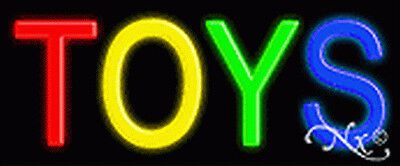 Brand New Toys 24x10x3 Real Neon Sign Wcustom Options 12179
