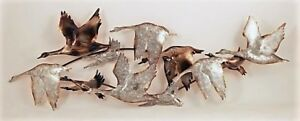 Flying Geese Metal Wall Art!