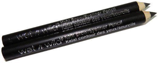 WET n WILD Twin Eye/Brow Pencils - Black 705