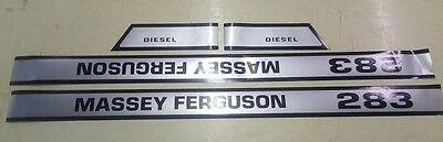Massey Ferguson 283 Hood Decals