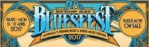 2x 5 day blues festival tickets Dee Why Manly Area Preview