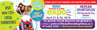 The Ottawa Parent & Child Expo - April 2018 @ Nepean Sportsplex