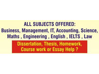 Assignment Help / Coursework Help / Dissertation Help / Proofreading Help / Writing Service