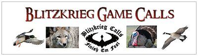 BLITZKRIEG GAME CALLS AND LURES