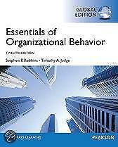 Essentials of Organizational Behavior Global E 9780273787013