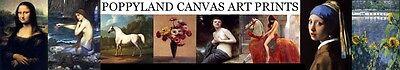 POPPYLAND CANVAS ART PRINTS