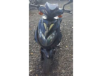 DIRECT BIKES NINJA 49CC 2010. 12 MONTHS MOT. TINY MILES. ELECTRIC START