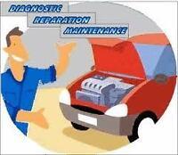 Mécanicien d'auto recherche le travail de soir et fin de semaine