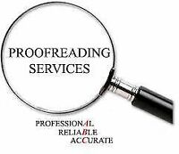 ***Proofreading services in English and French!!!***